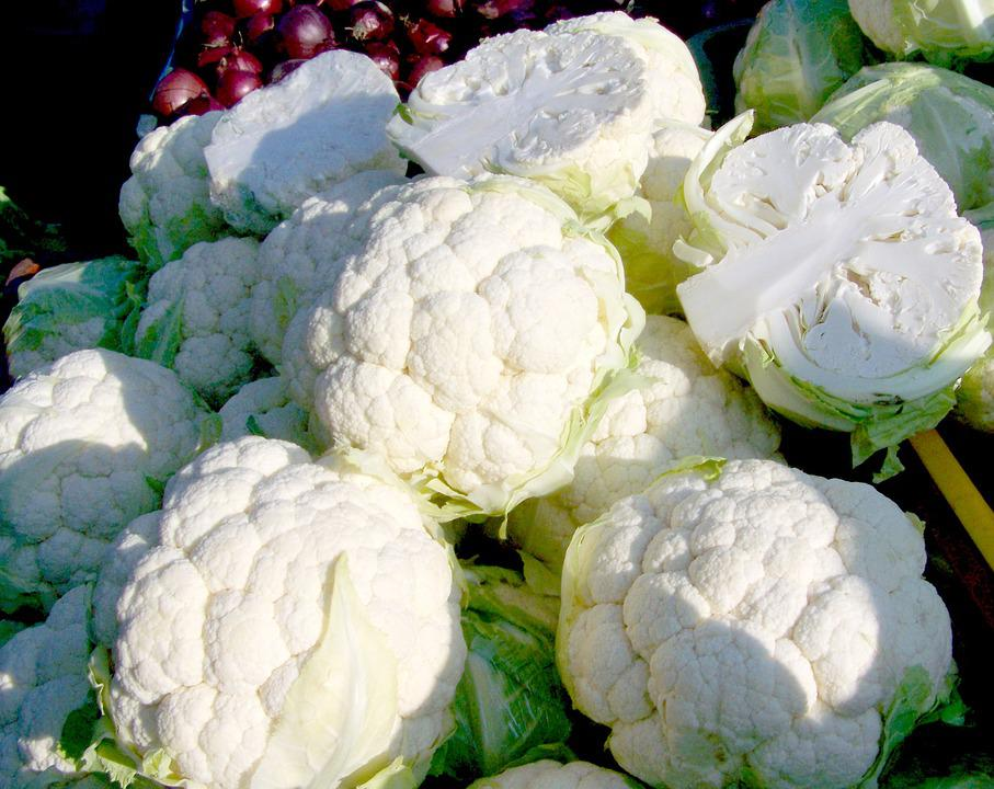 Cauliflower, White Vegetable, Food