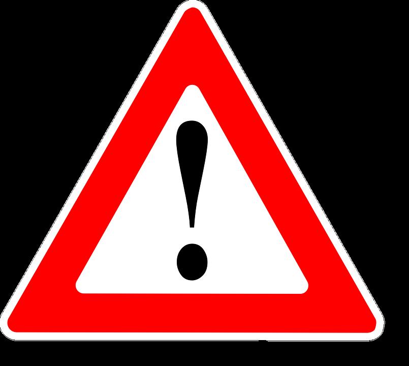 Attention, Warning, Sign, Danger, Symbol, Caution