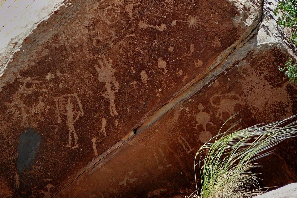 Petroglyph, Cave Painting, Cave Art, Symbol, Stone