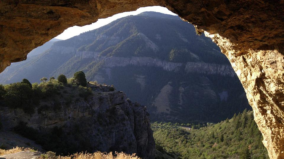 Free photo Cavern Framed Mountain Cave Arch - Max Pixel
