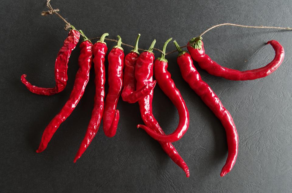 Cayenne, Chilli, Spice, Red, Hot