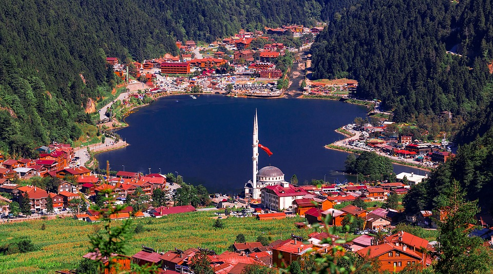 Uzungol, Lake, Caykara, Trabzon, Long Lake, Lacquer