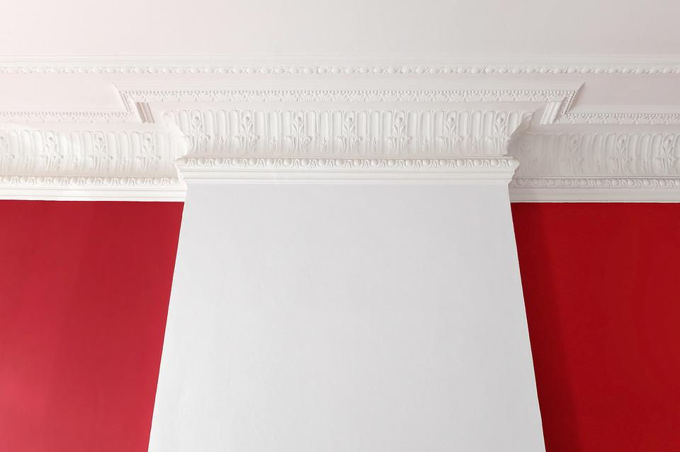 Wall, Ceiling, Stucco, Mouldings, Decoration, Ancient