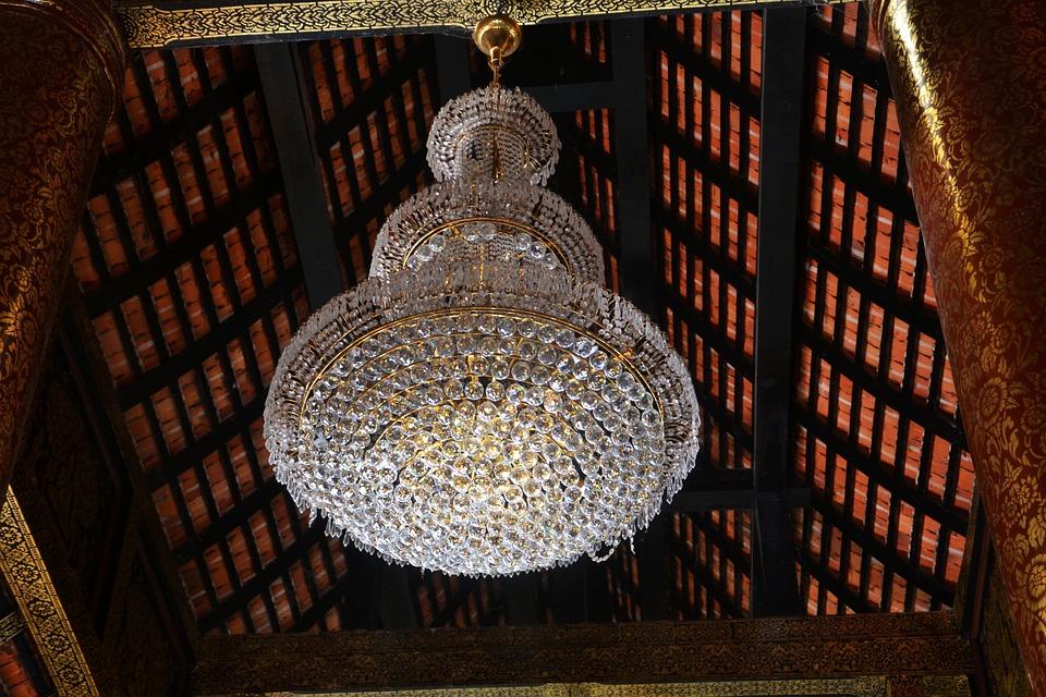 Chandelier, Light, Ceiling, Design, Interior