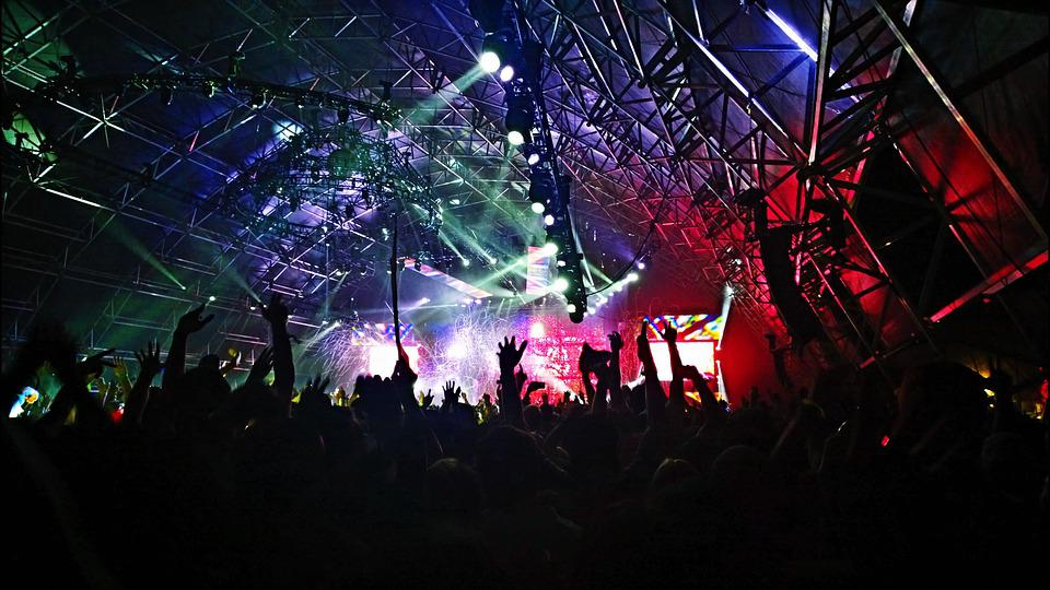 Audience, Band, Celebration, Crowd, Dancing, Festival