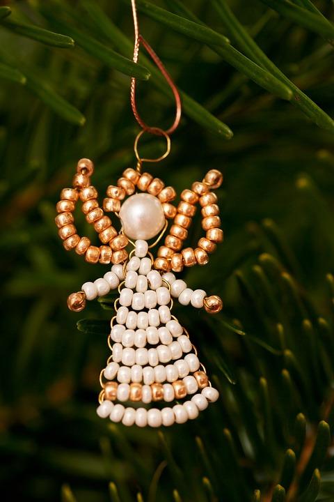 Angel, Branch, Celebration, Christmas, Decoration