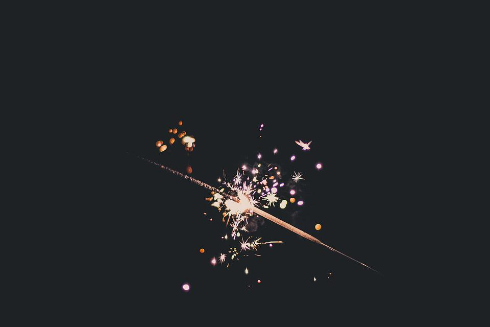 Bright, Sparkler, Celebrate, Celebration, Close-up