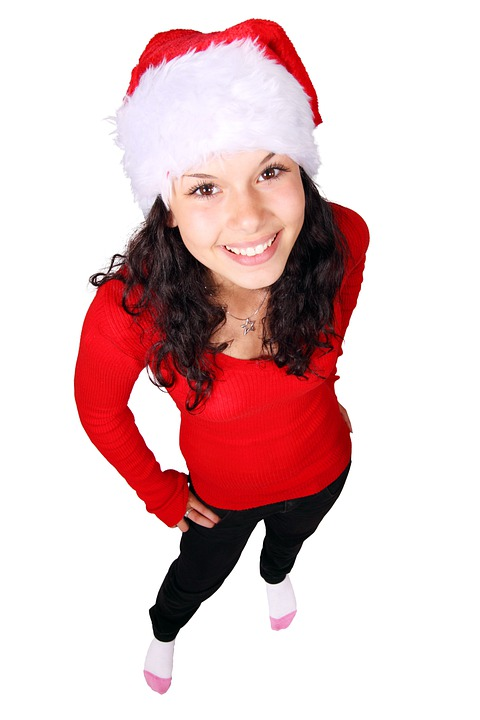 Celebration, Christmas, Claus, Decoration, Face, Female