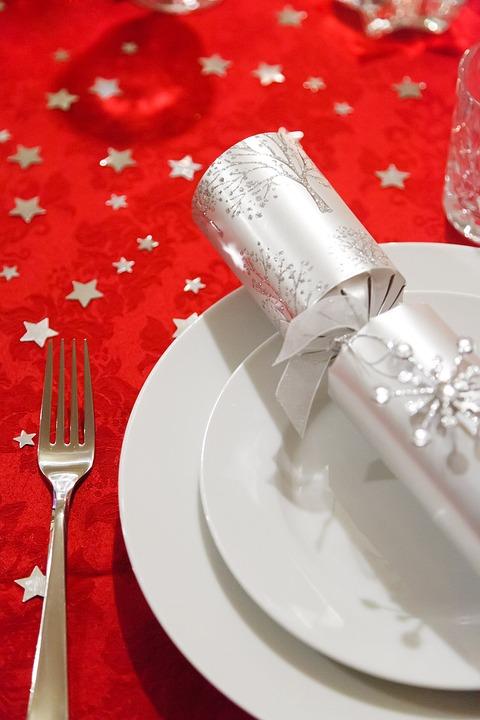 Celebration, Christmas, Decoration, Dining, Dinner