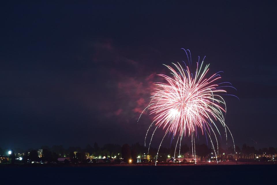 Fireworks, Independence Day, Celebration