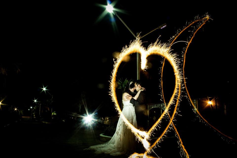 Celebration, Marriage, Fireworks