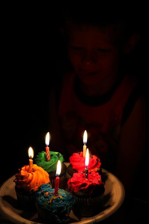 Cupcake, Food, Celebration, Birthday, Party, Children