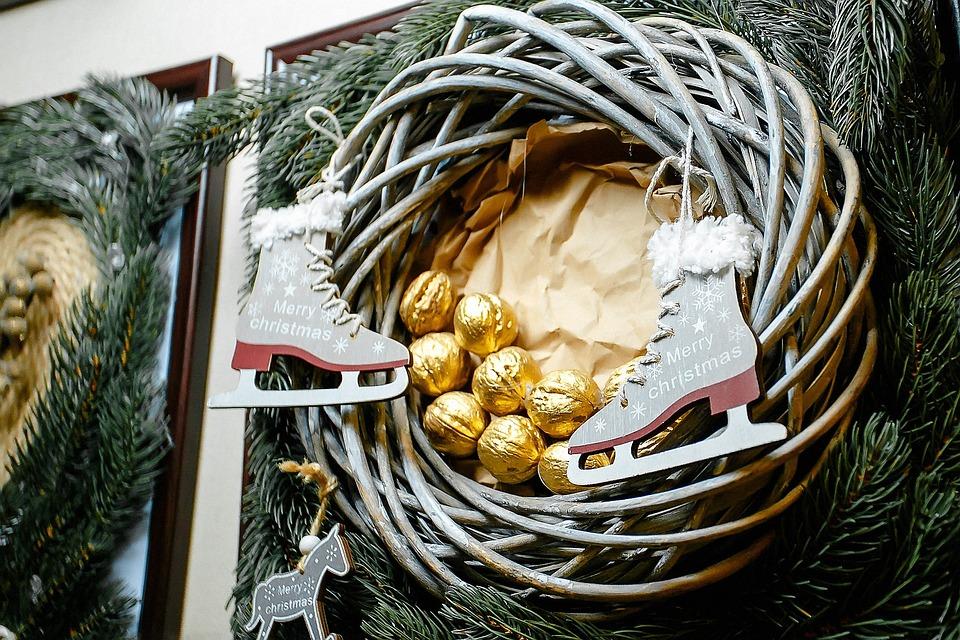 Christmas, Background, Celebration, Symbol