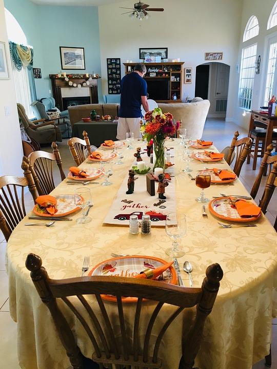 Thanksgiving Dinner, Thanksgiving, Celebration, Food