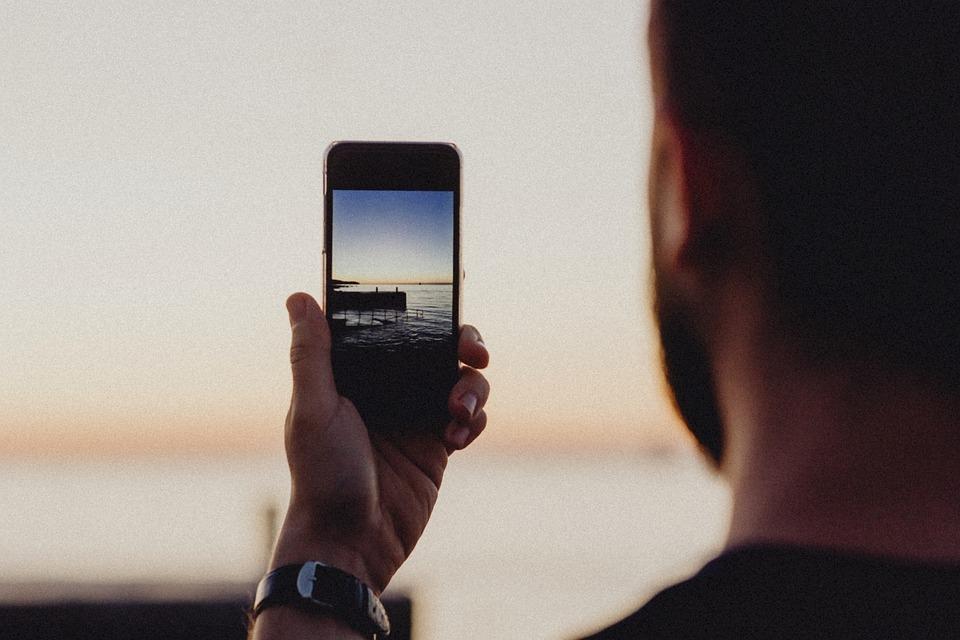 Camera, Capturing, Cellphone, Close Up, Closeup