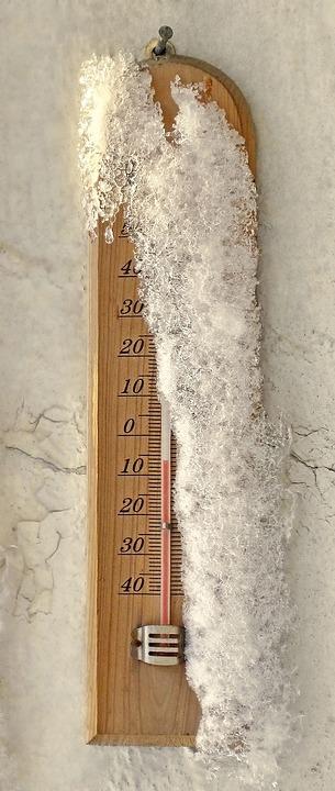 Thermometer, Snow, Temperature, Celsius, Cold