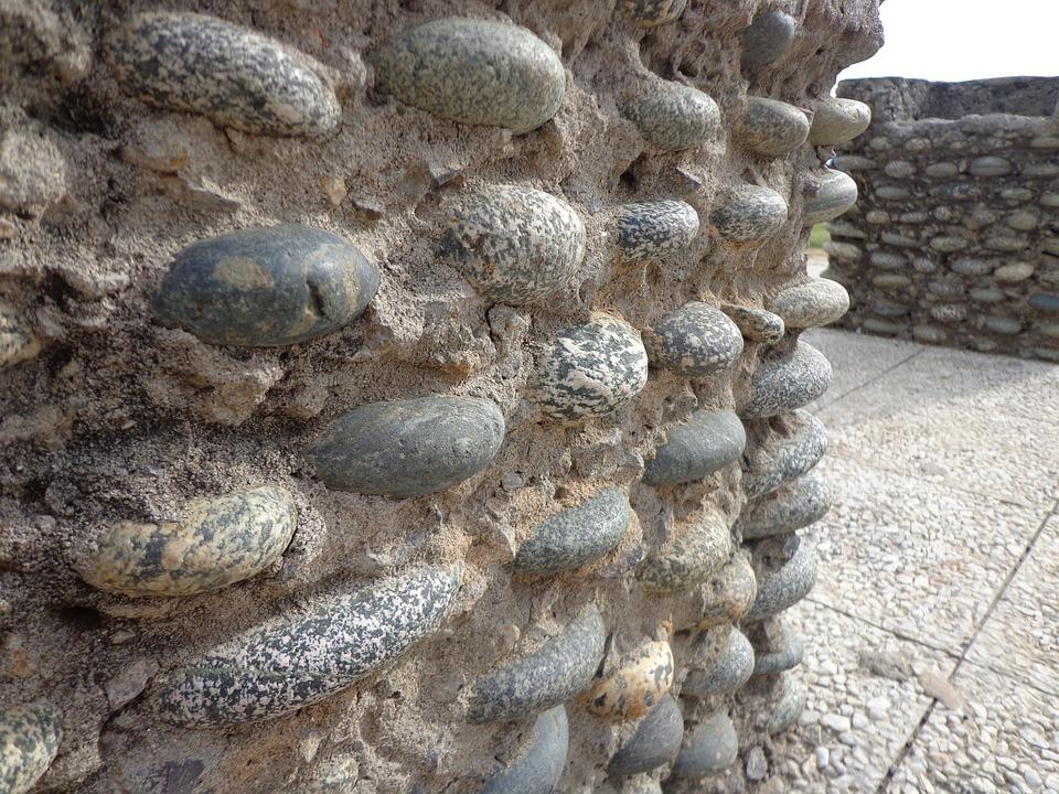 Wall, Stones, Pattern, Cement, Architecture, Concrete