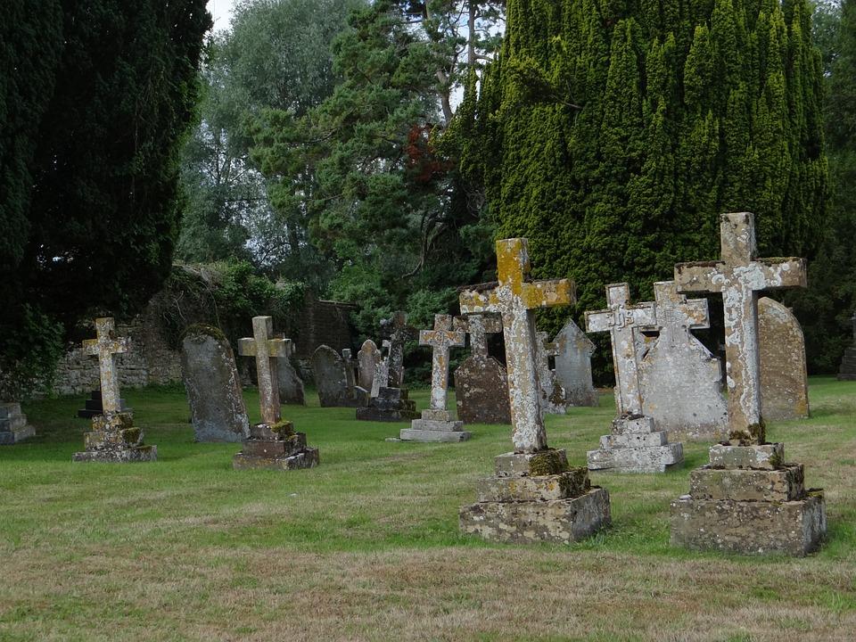 Cemetery, Grave, Antique