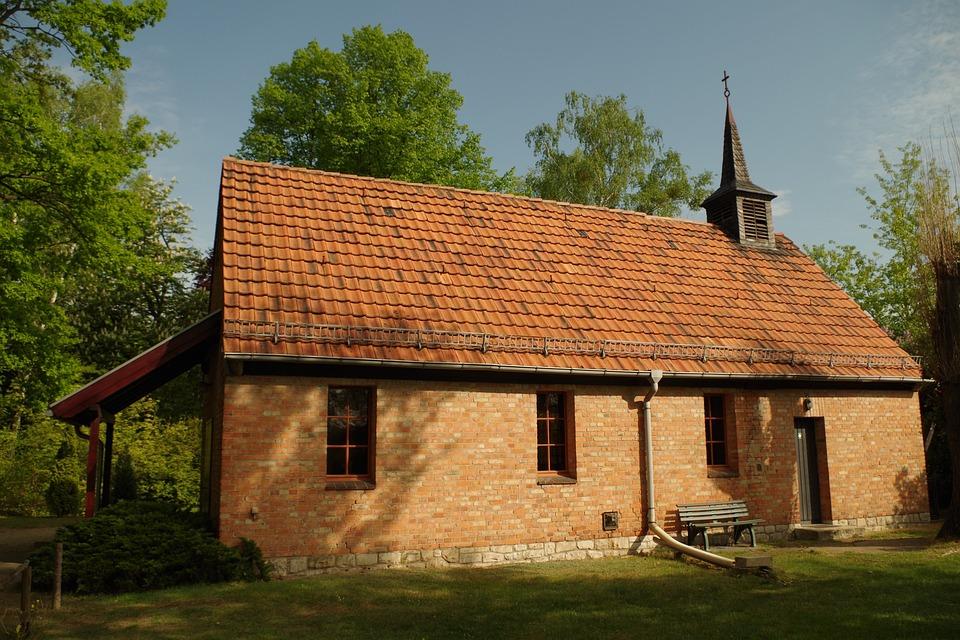 Chapel, Cemetery, Church