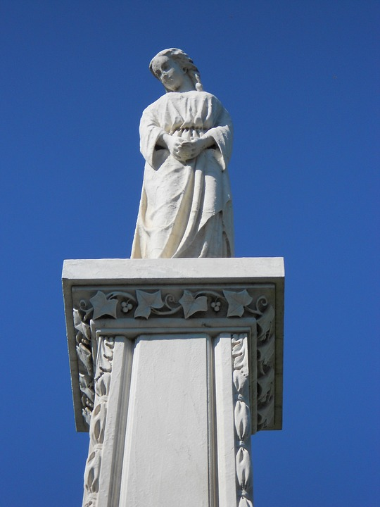 Statue, Arsenal, Monument, Congressional, Cemetery