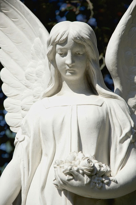 Grave Of Angels, Angel, Grave, Cemetery, Angel Figure