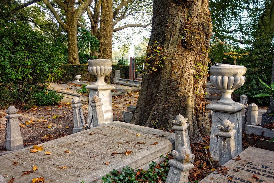 Cemetery, Graveyard, Tombstones, Graves, Peace