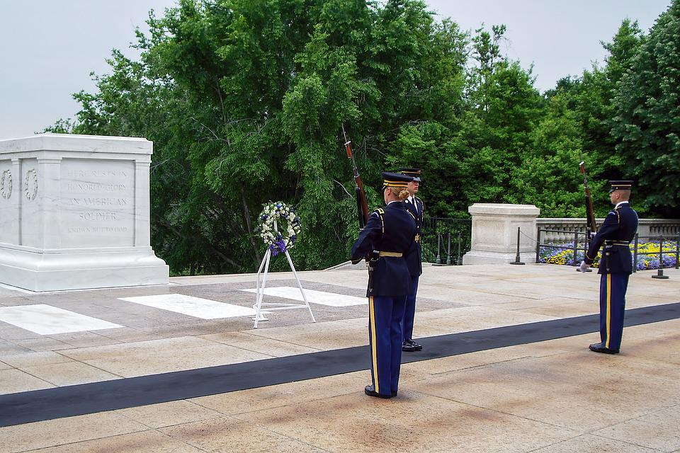 Military, Guards, Soldiers, Ceremony, Cemetery, Tomb