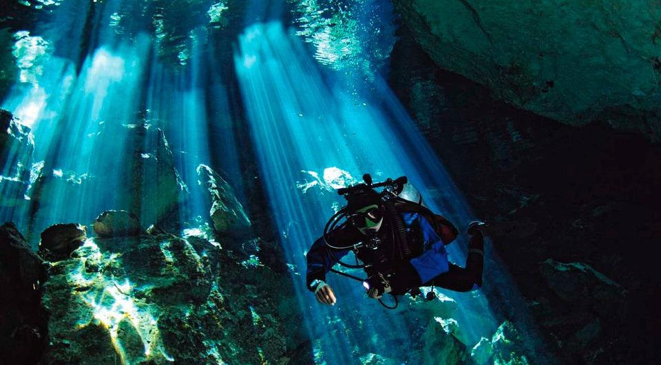 Cenote, Diving, Yucatan