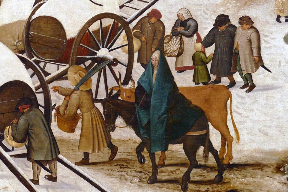 Census At Bethlehem, Pieter Brueghel Ii, The Younger