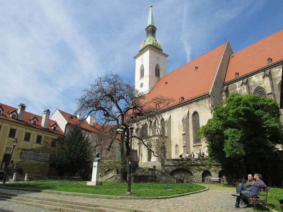 Bratislava, Slovakia, Center, Church
