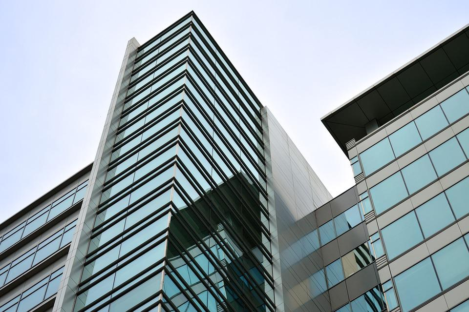 Business, Center, Exterior, Architecture, Glass, Modern