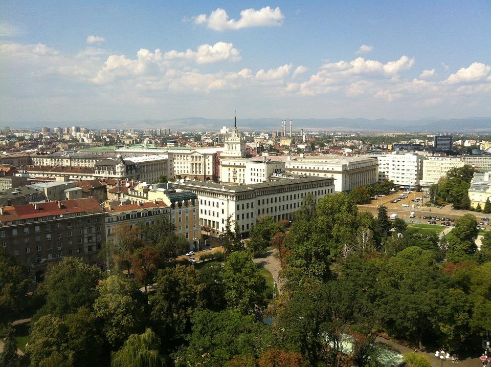 Sofia, Bulgaria, Center Of The City, View