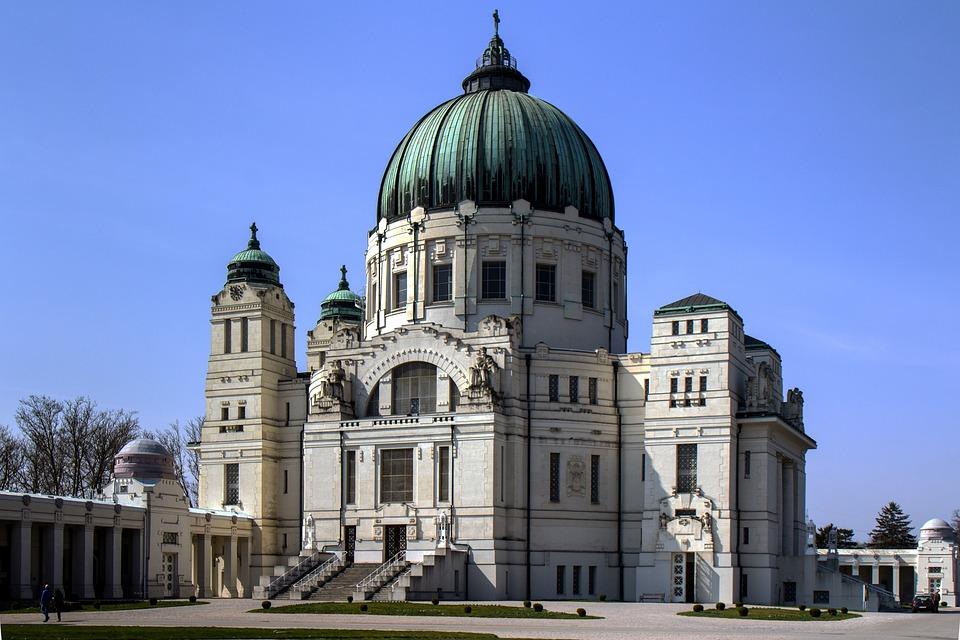 Vienna, Central Cemetery, Church