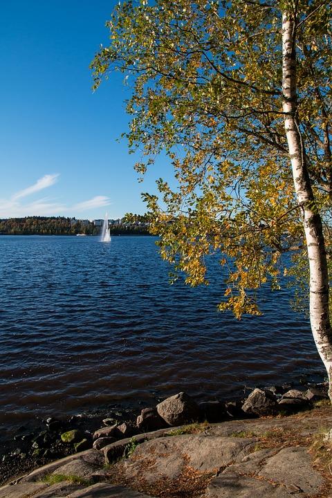 Jyväskylä, Jyväsjärvi, Central Finland, Finnish, Lake