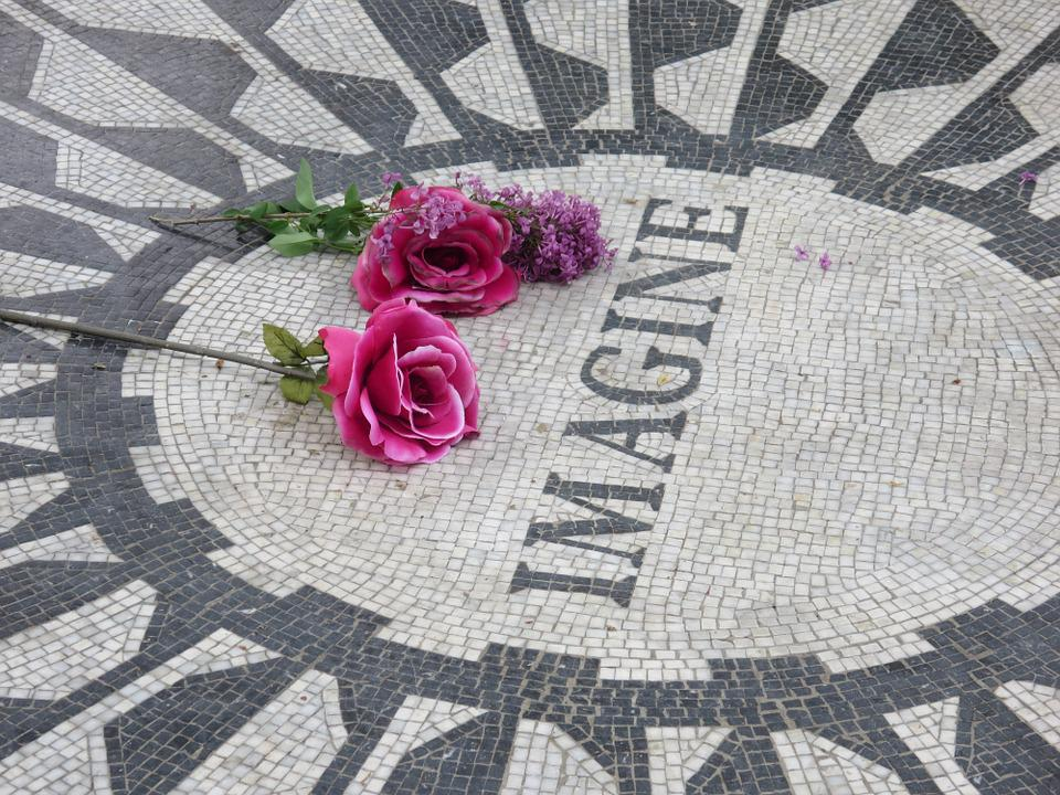 Strawberry Fields, Imagine, John Lennon, Central Park