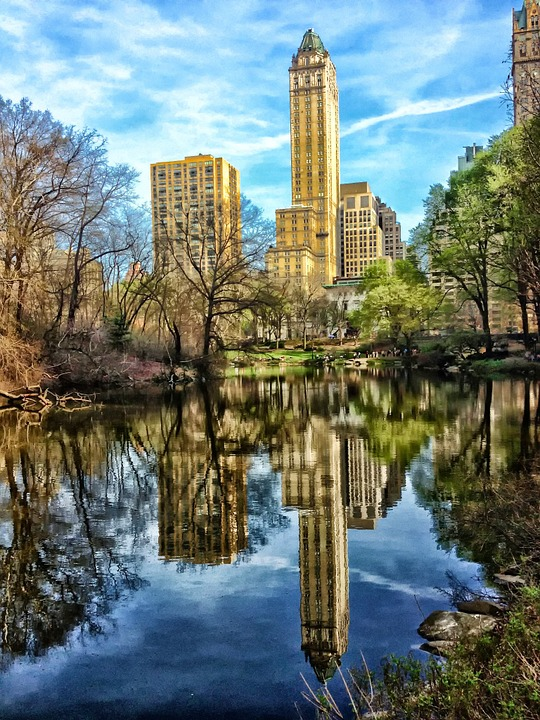 Central Park, New York City, Skyscraper, Buildings