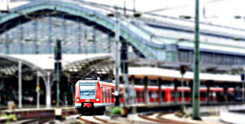 Central Station, Railway Station, Train, Cologne