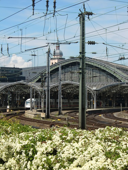 Cologne, Train, Central Station, Railway Station
