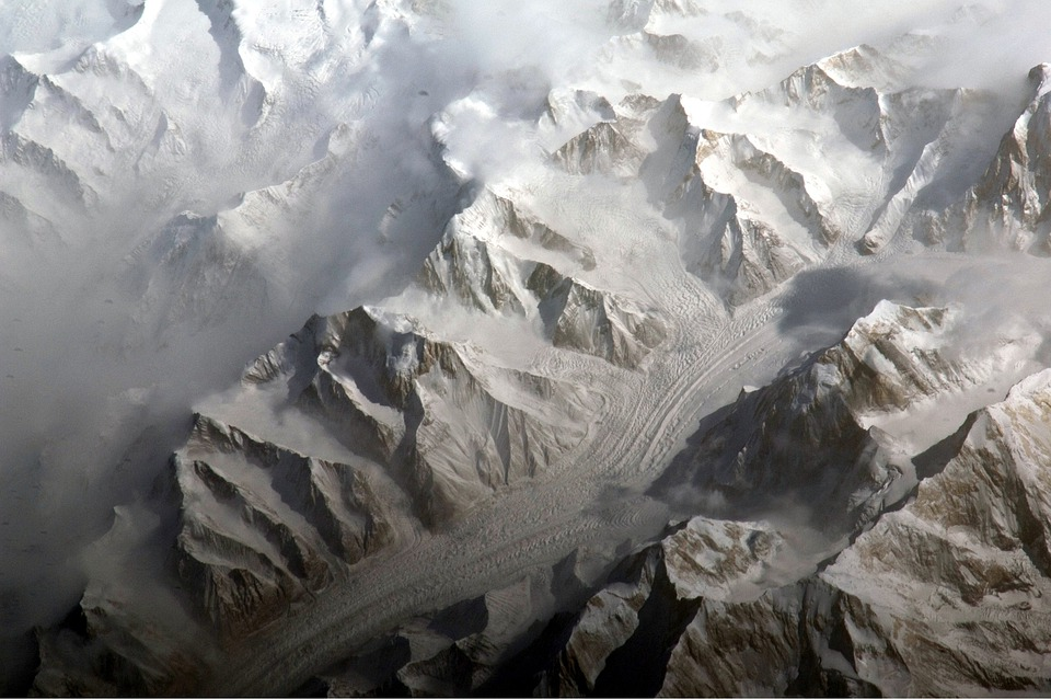 Central Tien Shan, China, Landscape, Mountains, Snow