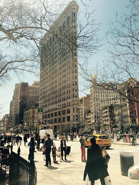 Centre, New York, Nyc, The Big Apple