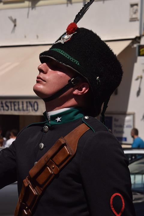 Military, Military Parade, Centre Rome