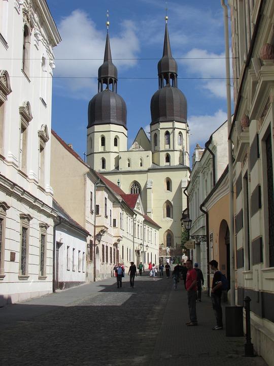 Trnava, Center, Slovakia, City, Centre, Town Centre