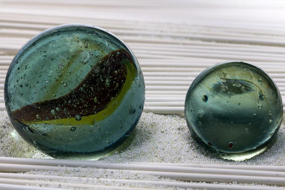 Close, Glaskugeln, Ceramic Beads