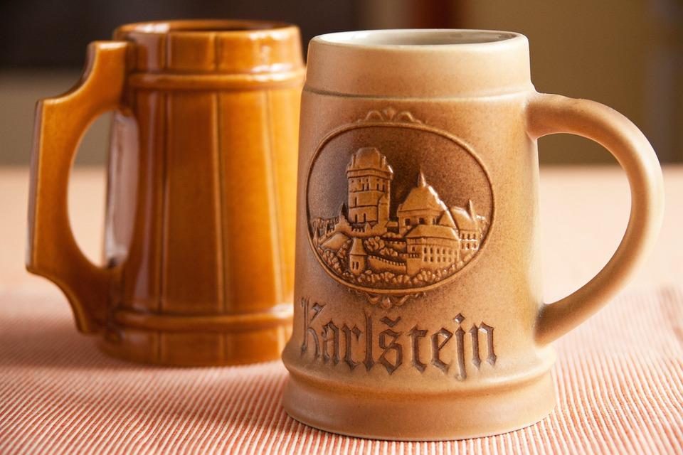 Alcohol, Beer, Beverage, Brewed, Brown, Ceramic, Cup