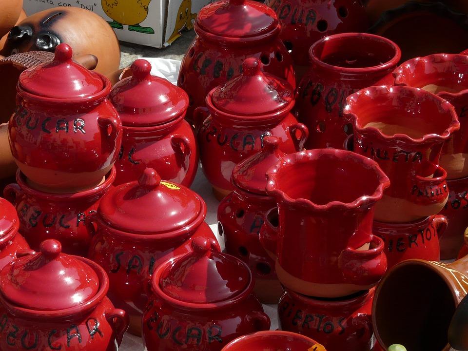 Ceramic, Kitchen, Crockpot, Crafts