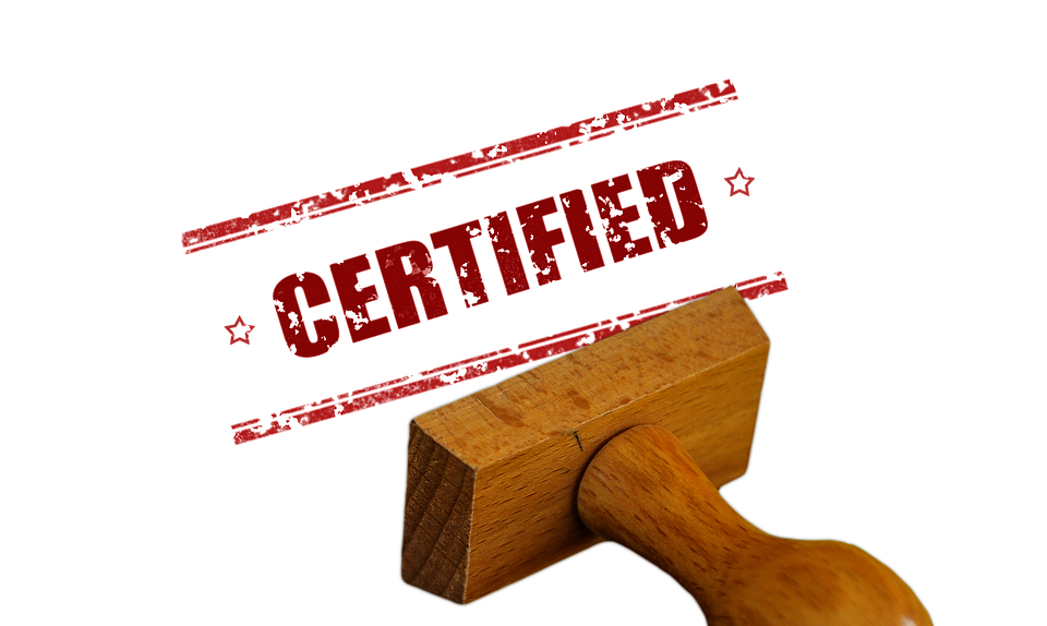 Stamp, Certificate, Certified, Confirmation, Confirmed