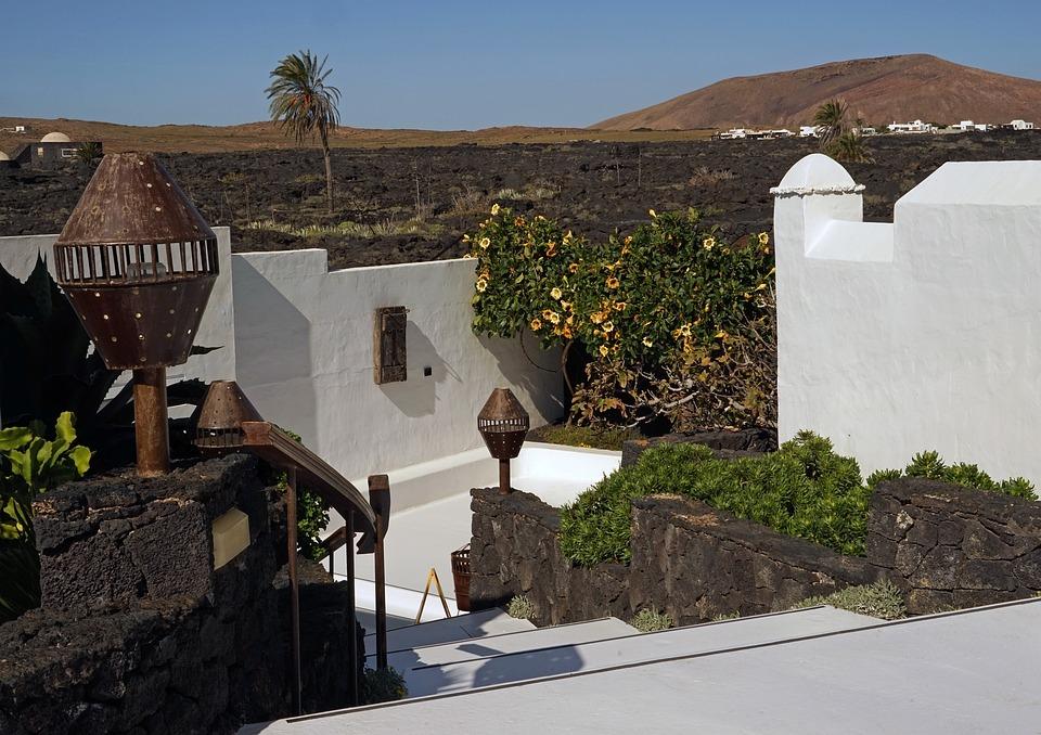 Residence, César Manrique, Lanzarote, Tahiche