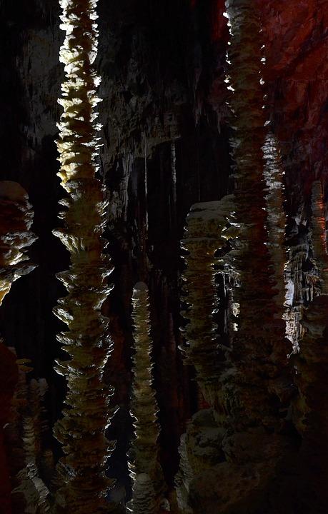 Aven Armand, Stalagmites, Cave, Cevennes National Park