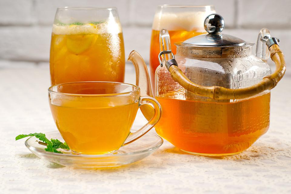 Tea, Drink, Teapot, Beverage, Chá Tea, Healthy, Glass
