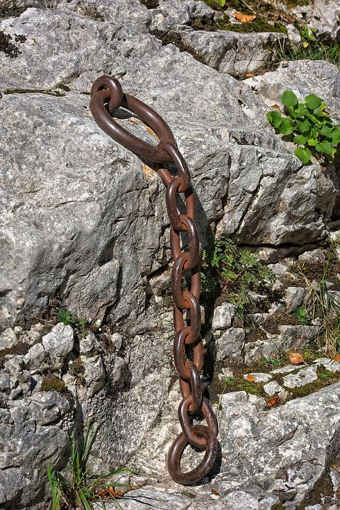 Iron Ring, Chain, Connection, Iron, Ring, Chain Link